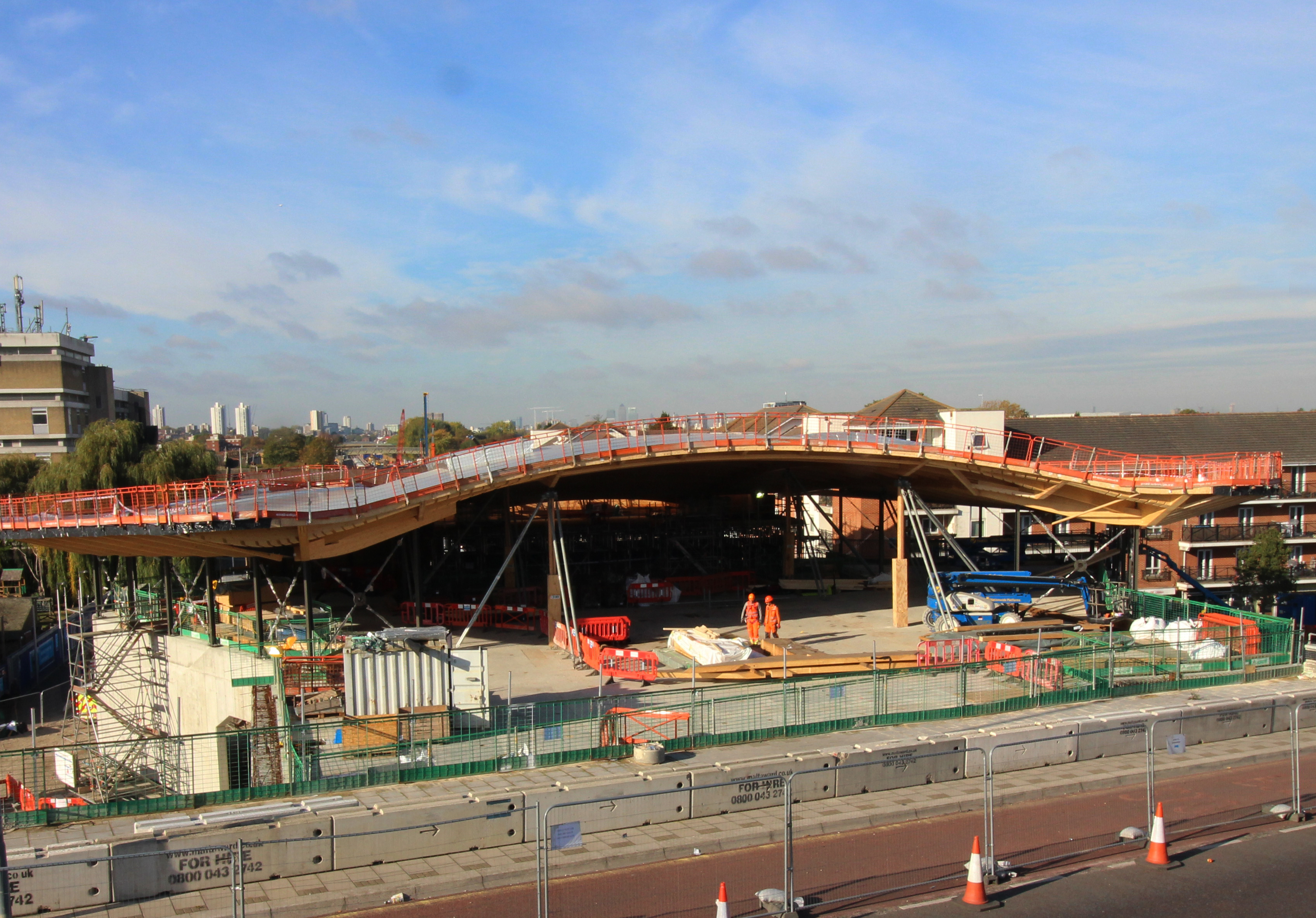 New Station At Abbey Wood Takes Shape Crossrail