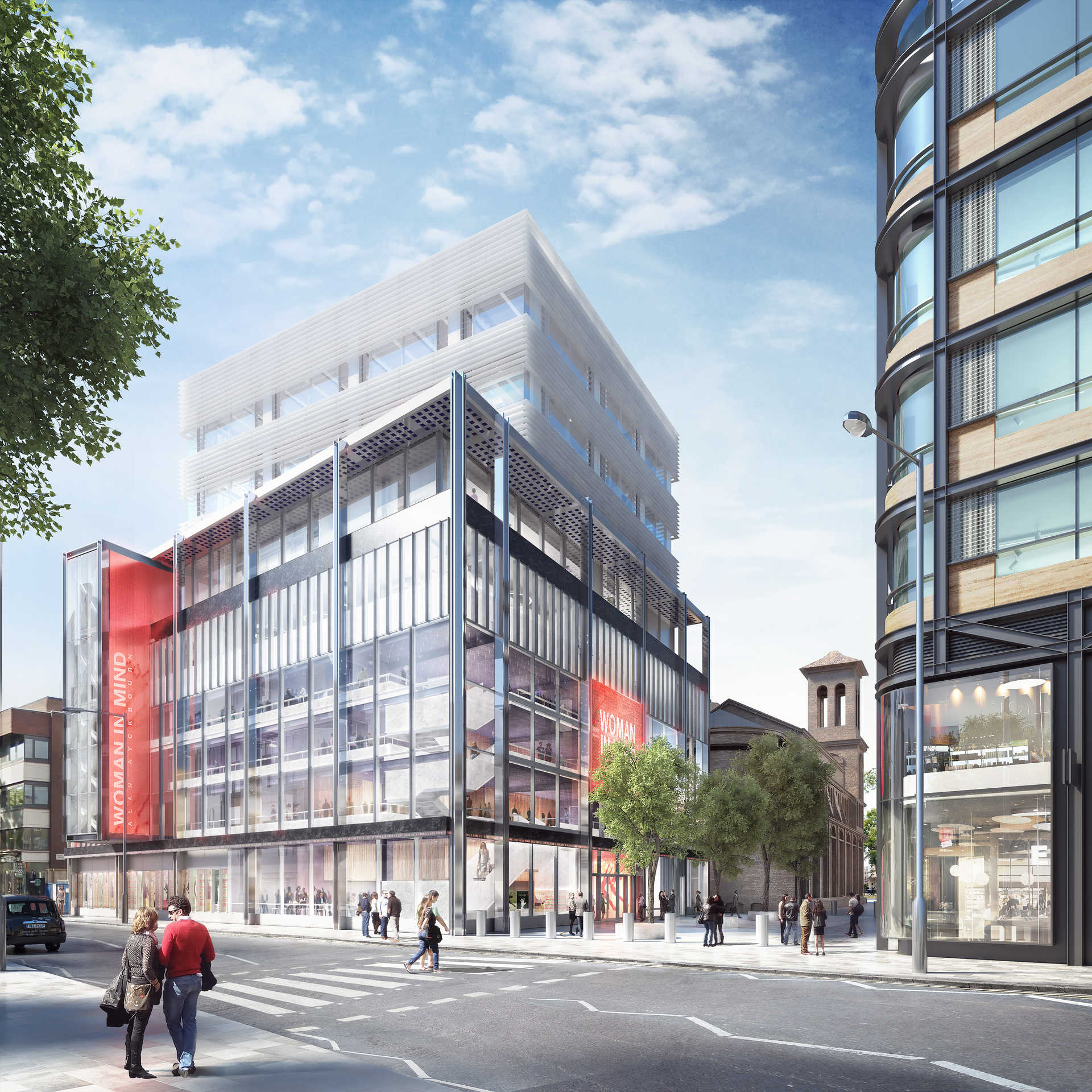 Hanover Cross Street Apartments: Crossrail Project